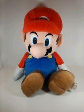"Official Nintendo Super Mario 20"" Mario Plush Stuffed Toy Bag"