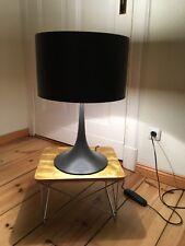 Wie NEU * Flos Spun Light T1 Tischleuchte * braunmetallic 35cm Durchmesser