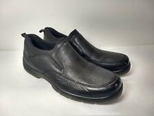 Large Hush Puppies Men's Size US 16 Slip-On Loafer Black Waterproof