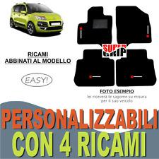 2009-2016 CITR CLI Tappetini auto Citroen c3 Picasso - Nero Ago Feltro 4tlg