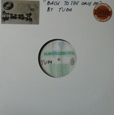 "TUBA - Back To The One ~ 12"" Single US TEST PRESS + INSERT"