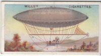 1852 First Steerable Dirigible Flight By Giffard Paris 100+ Y/O  Trade Ad Card