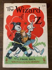 Vintage 1956 Wizard of Oz L. Frank Baum Illustrated Rand McNally Book Fair GB1
