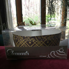 New listing Decorative Paper Round Tube Baking Pans Hanna K. Signature Elements 4 Pack