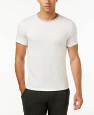 Kenneth Cole Reaction Downtime Ringer T-Shirt White XL Mens New 886459582713