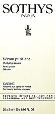 Sothys Purifying Serum Oily Skin 20 X 2ml(0.06oz) prof NEW