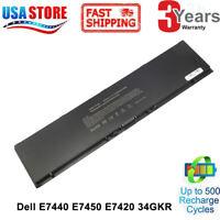 47Wh Battery for Dell Latitude E7440 E7420 E7450 Series 3RNFD V8XN3 G95J5 34GKR