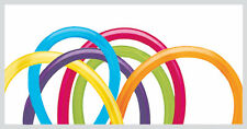 Qualatex Tropical 260q modelling balloons, 100 pack assorted colours