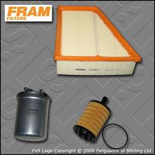 KIT Di Servizio Per Seat Ibiza (6l) 1.9 TDI FRAM OLIO AIR FILTRI di carburante (2005-2009)