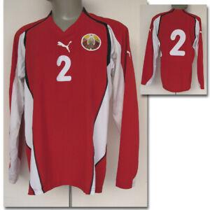 Original match worn Spielertrikot Weißrussland Fußball Football shirt Belarus