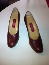 CHAUSSURES CUIR MARRON P 36 CAREL
