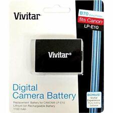 Vivitar Replacement Battery For Canon LP-E10 Camera