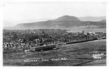 Photo. ca 1941. Kelowna, BC Canada. Sky view