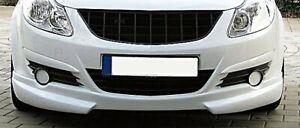 Pour Opel Corsa D OPC Calandre Sport Grille Noir Sans Sigle Emblème 2006-2010