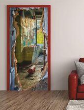 Türposter Glasbild Türaufkleber Möbelfolie Tapete Fenster Verzierung Zion 853tp