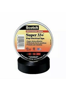 """33+Super-3/4x36YD Vinyl Tape 3/4"""" X 36YD (Boxed) / Price is for 1 Roll"""