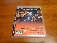 The Orange Box (Sony PlayStation 3, 2007) PS3 Half Life 2 Portal Complete TESTED
