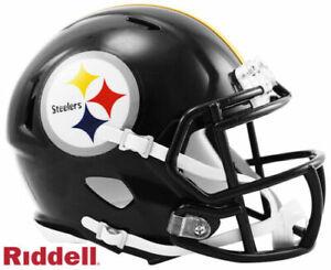 Pittsburgh Steelers Speed Riddell Football Mini Helmet New in box