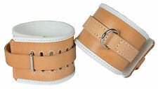 "Hospital Style Wrist Restraints Genuine Leather ""NEW"""
