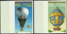 MALI AVIATION MONTGOLFIERES BALLOONS AEROSTATS IMPERFS NON DENTELE ESSAY ** 1983