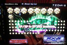 Wangan Maximum Tune 3DX+ ~ 0 to 9999+Stars + LvL46 DressUp + 820HP + Your Name