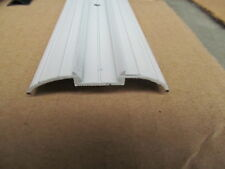 "92"" White Aluminum Vinyl Insert Belt Line Side Body Decorative Trim Molding RV"