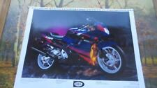 Honda Motorcycle Poster of a 600 F2 By  Gary Barholomew  OXY DRY 25x16