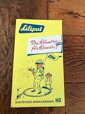 More details for liliput german model train leaflet . 1960s ?