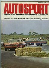 Autosport August 16th 1968 *Alfa Romeo 1750 GTV Road Test*
