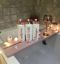 Personalised 500ml Pump Bottles Shampoo Conditioner Bathroom Kitchen