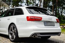 A 6 C7 4G Avant SPOILER RS S Line TAILGATE REAR ROOF door cover Wing Window lip