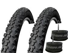 1 Paar MTB Schwalbe Black Jack Reifen 26x2,25 (57-559) inkl. 2 Schläuche HS 407