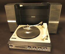 VTG GE Wildcat AM FM Radio Stereo Record Player Suitcase Phonograph  Model V982g