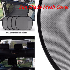 Universal 5PCS Car Side Rear Window Screen SunShade Mesh Covers Windshield Visor