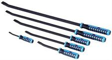 OTC Tools Pry Bars Steel Black Oxide Black/Blue Nylon Handle Set of 6