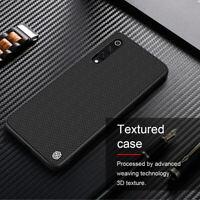 For Xiaomi Mi 9 NILLKIN Nylon Carbon Fiber Shockproof Slim Hard Back Case Cover