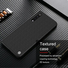 For Xiaomi Mi 9 NILLKIN Nylon Carbon Fiber Shockproof Slim Hard Back Case Cover