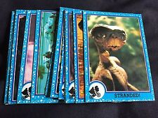 E.T. 17 trading cards 1982