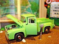 1956 FORD F-100 PICKUP TRUCK LIMITED EDITION GOOD OLE PICK EM UP TRUCK 1/64 M2