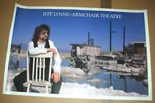 JEFF LYNNE Electric Light Orchestra Armchair Theatre Promo Poster Mint- 1990 NEW