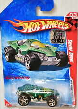 HOT WHEELS 2010 RACE WORLD SWAMP BUGGY FACTORY SEALED