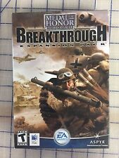 MEDAL OF HONOR ALLIED ASSAULT - BREAKTHROUGH EXPANSION MAC CD * ORIGINAL SEALS
