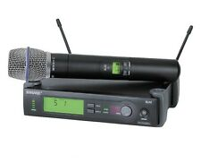 Shure SLX24/BETA87A-G5 Handheld Wireless Microphone System G5 (494-518 MHz) NEW