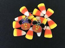 Mickey Mouse Earrings, Minnie Mouse Earrings, Halloween Pumpkin Earrings