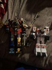 Mighty Morphin Power Rangers thunderzord lot megazord and tiger zord
