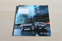 129895) Lexus LS - Preise & Extras - Prospekt 12/2012