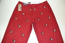 PENNINGTON BAILES STADIUM FLORIDA STATE FSU SEMINOLE HEAD RED PANTS MENS 40 NEW