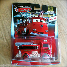 Disney PIXAR Cars RED the FIRE TRUCK diecast RADIATOR SPRINGS 7/19 DELUXE ENGINE