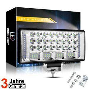 204W LED Fernscheinwerfer Arbeitsscheinwerfer 12/24V PKW LKW SUV Auto Anhänger