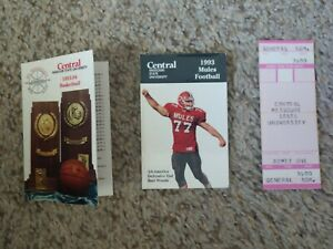 University of Central Missouri Mules Schedule football basketball 1993 1994